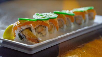 Aburi (Seared) Salmon Roll