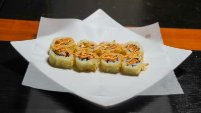 Crunchy Salmon Roll but not only crunchy