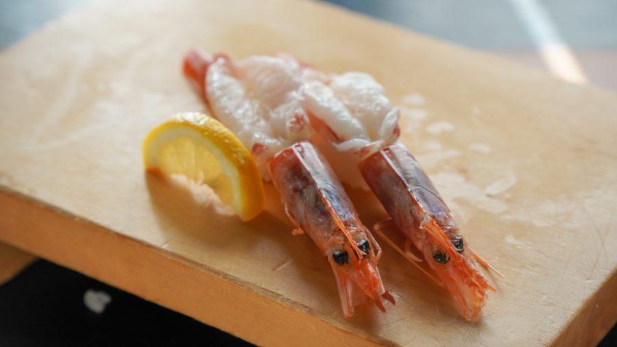 What do you call the Red Shrimp?