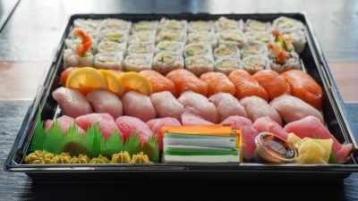 Celebrate events with our Nigiri & Roll Platter