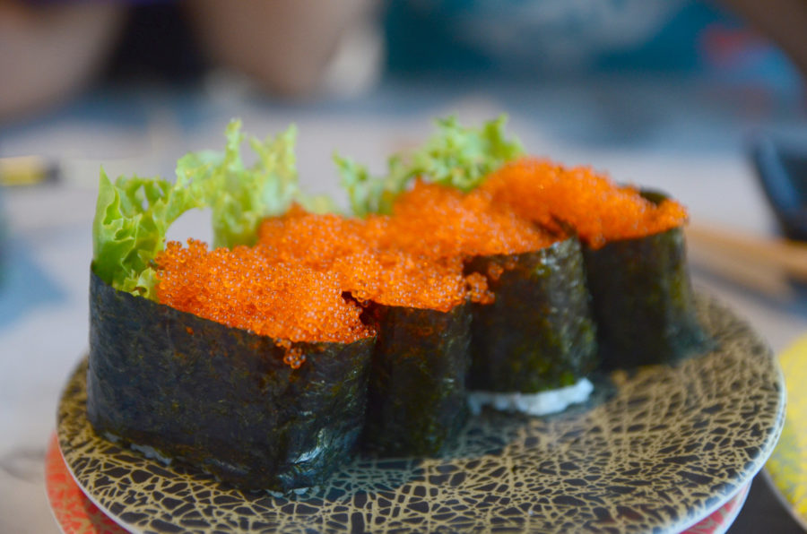 Tobiko (it's different from Masago!)